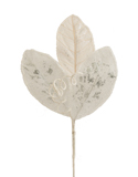 BEADED MAGNOLIA PICK WHITE